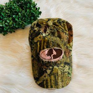 Mossy oak camo ball cap